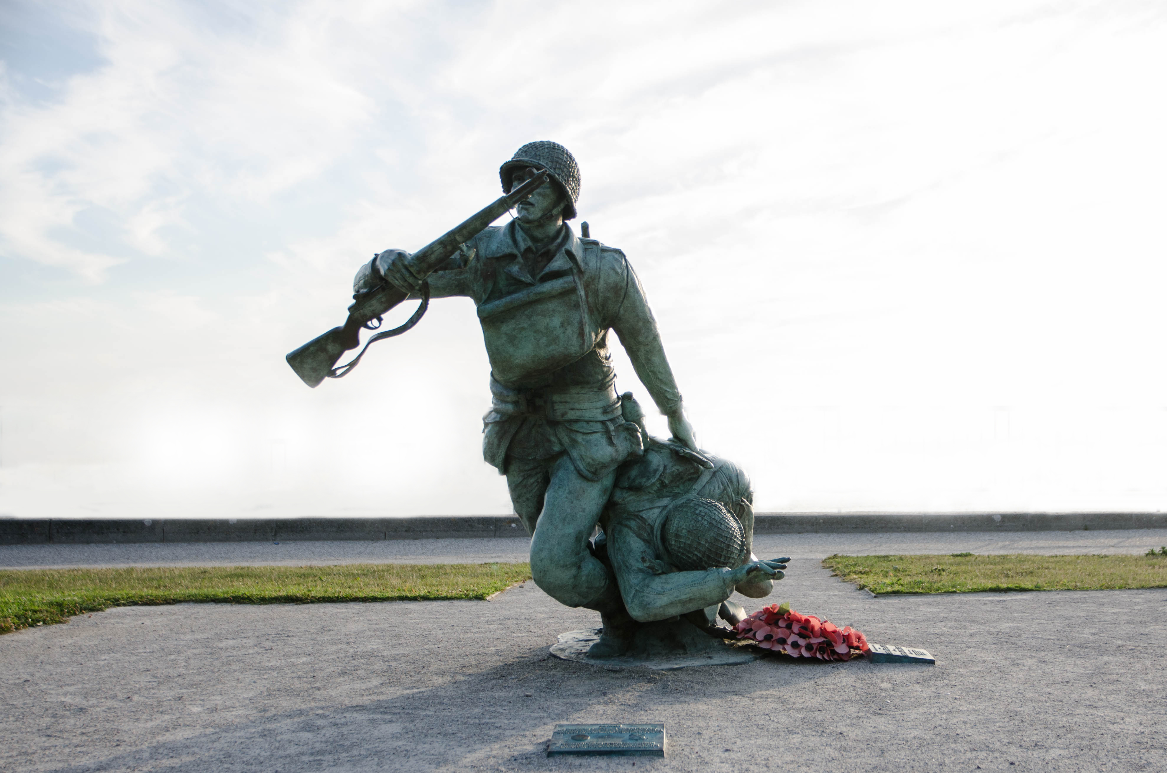 The Bedford Boys Monument on Omaha Beach - Normandy at War Tours